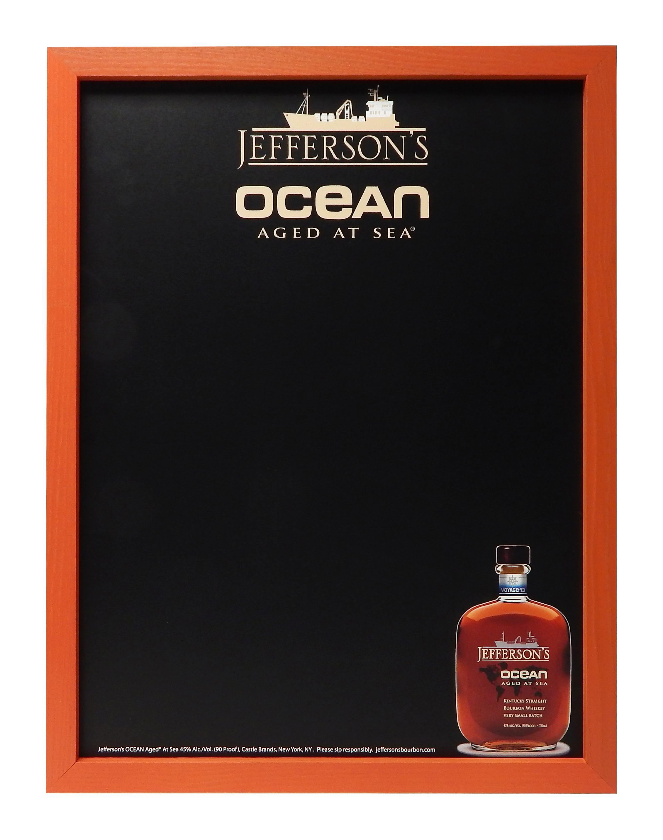 CBR-10 Jefferson's Ocean Wall Chalkboard