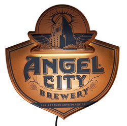 Angel City LED Tacker Sign