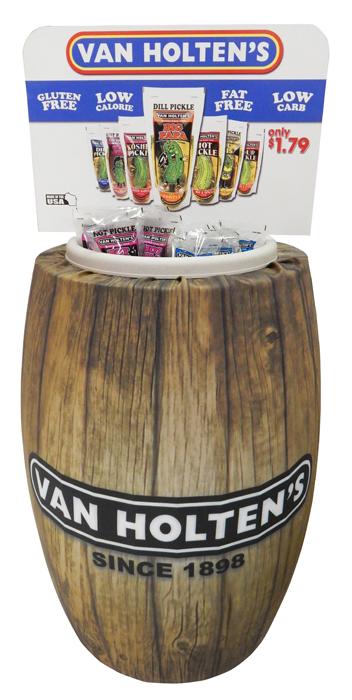 Van Holten's Pickel Barrel Display