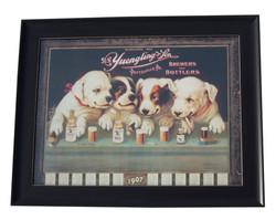 YUE Framed Dog Poster