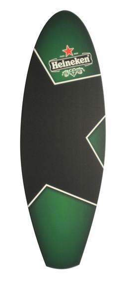 Heineken Surfboard Chalkboard