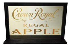 Crown Royal Apple Shelf Mirror 2825