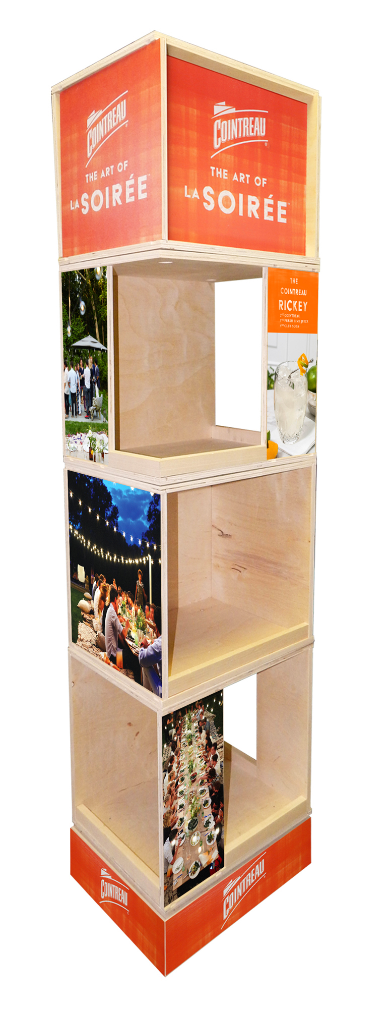 Cointreau Custom Rack Display