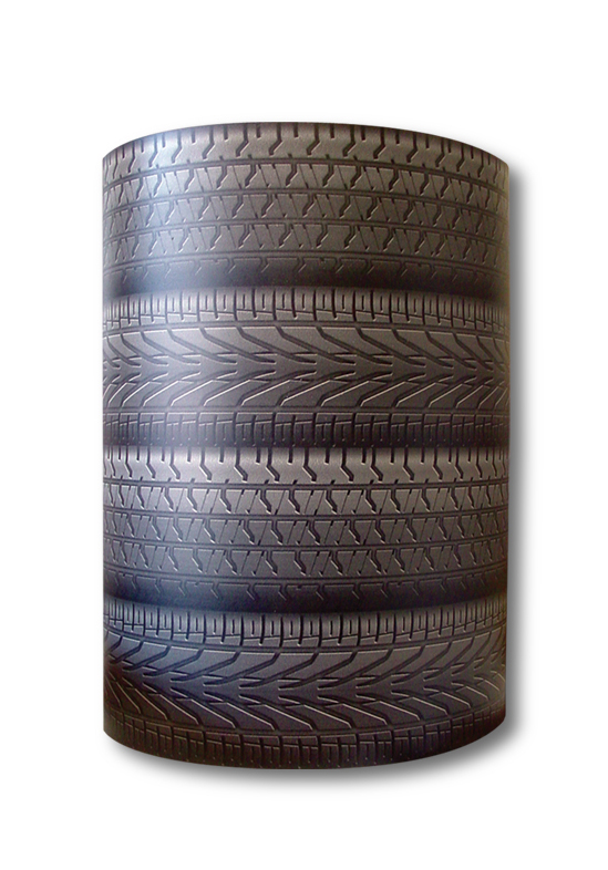 Tire Barrel Display