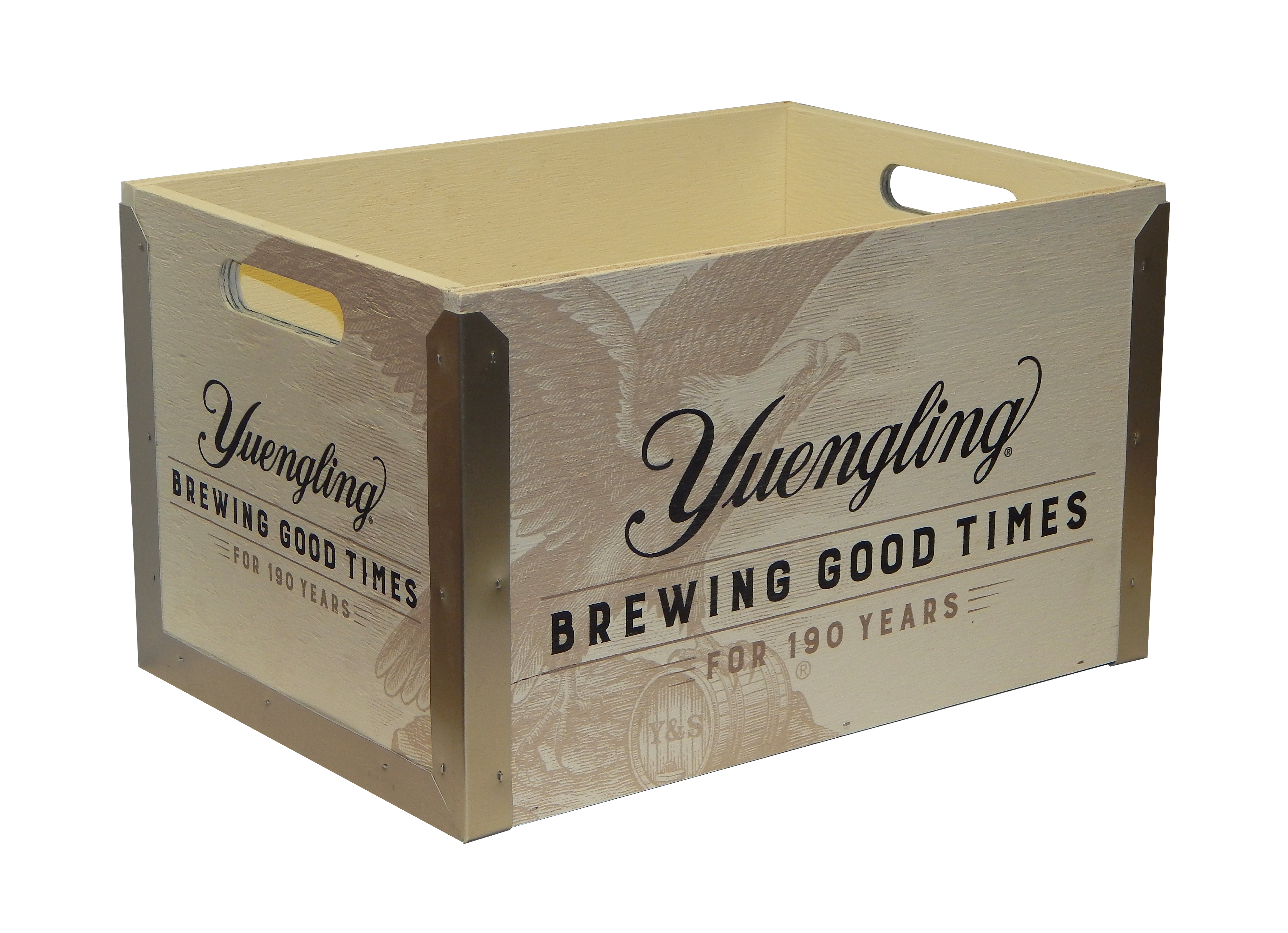 YUE-225 Yuengling 190 Years Crate 11-5-1