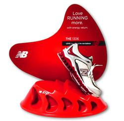 New Balance Shoe Display