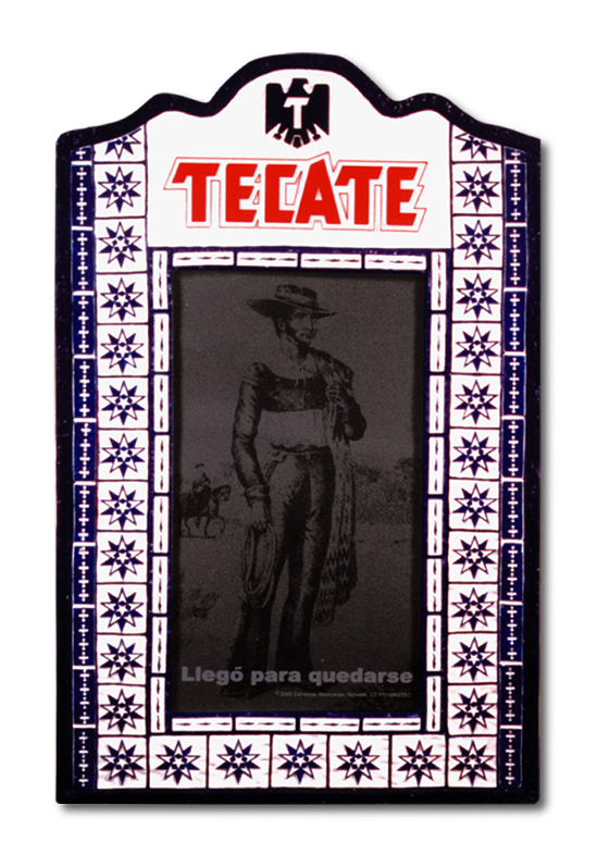 Tecate Polyurethane Molded Sign