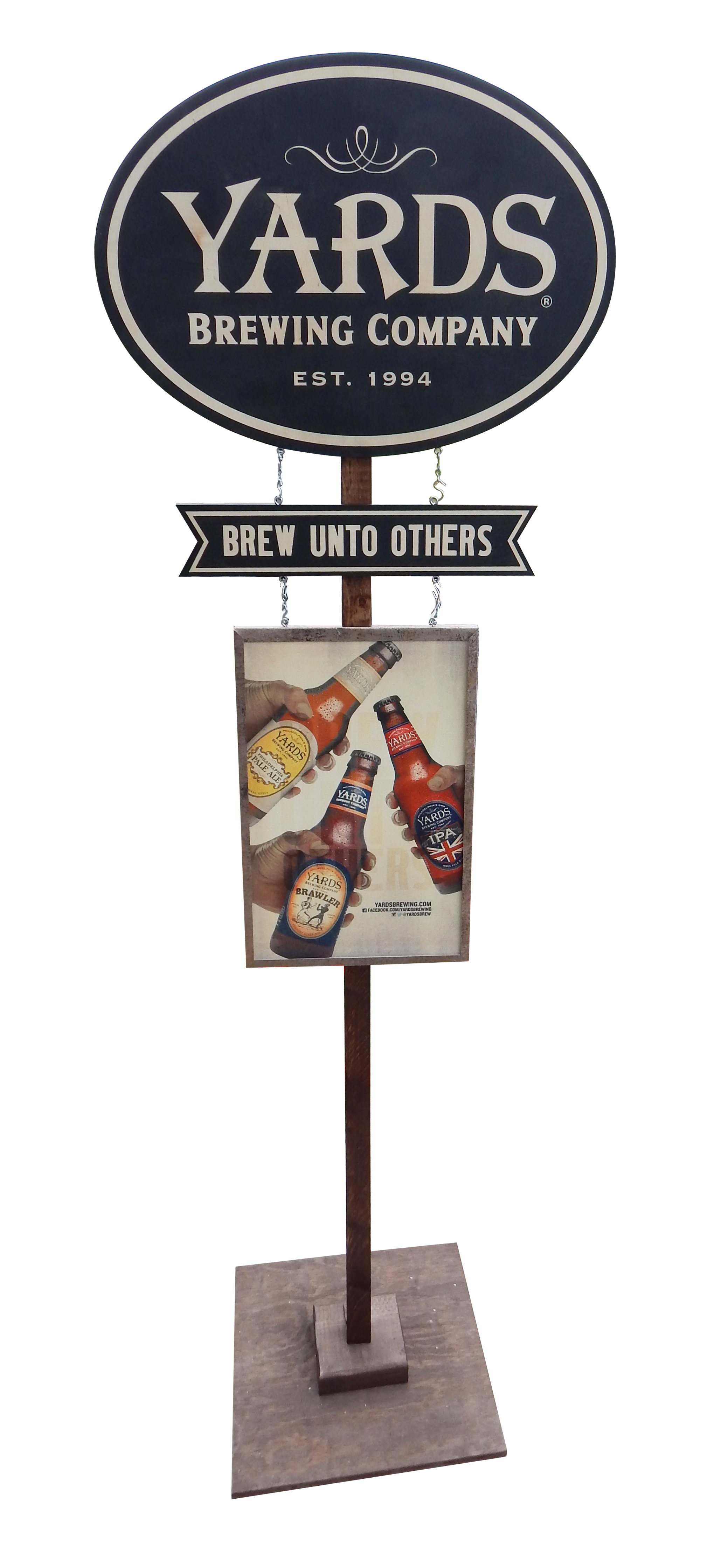 Alsion Group - Yards Brewing Pole Topper