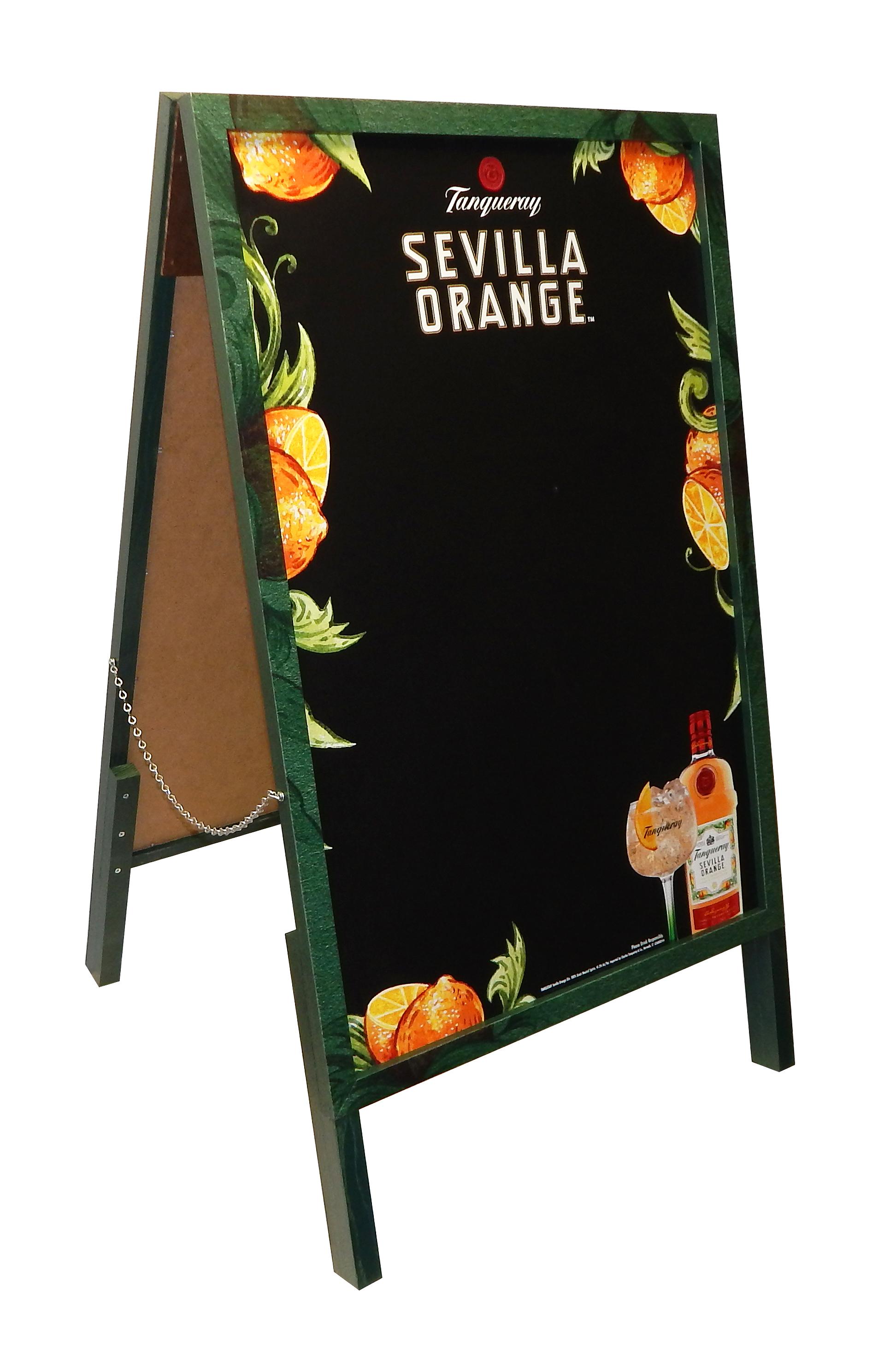 ADM-106 Tanqueray Sevilla Orange A-Frame
