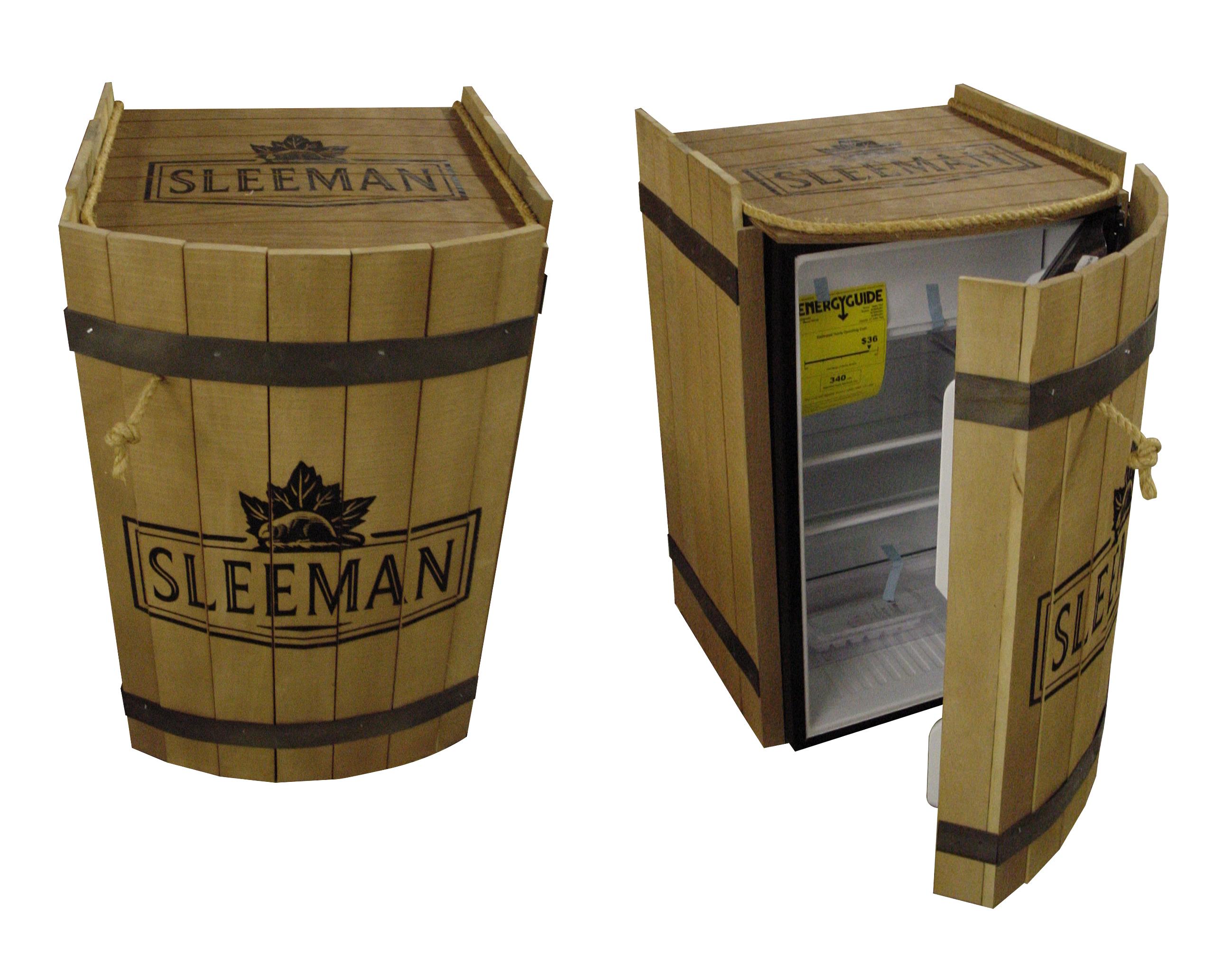 Sleeman Barrel Fridge