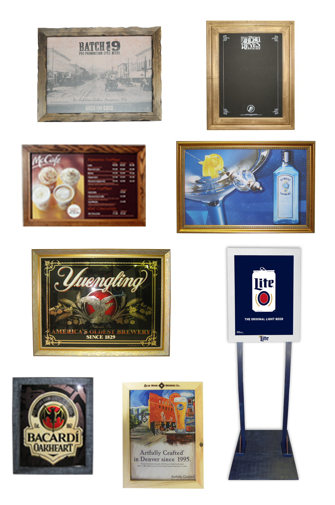 Visual Gallery - Framing Custom or Poste