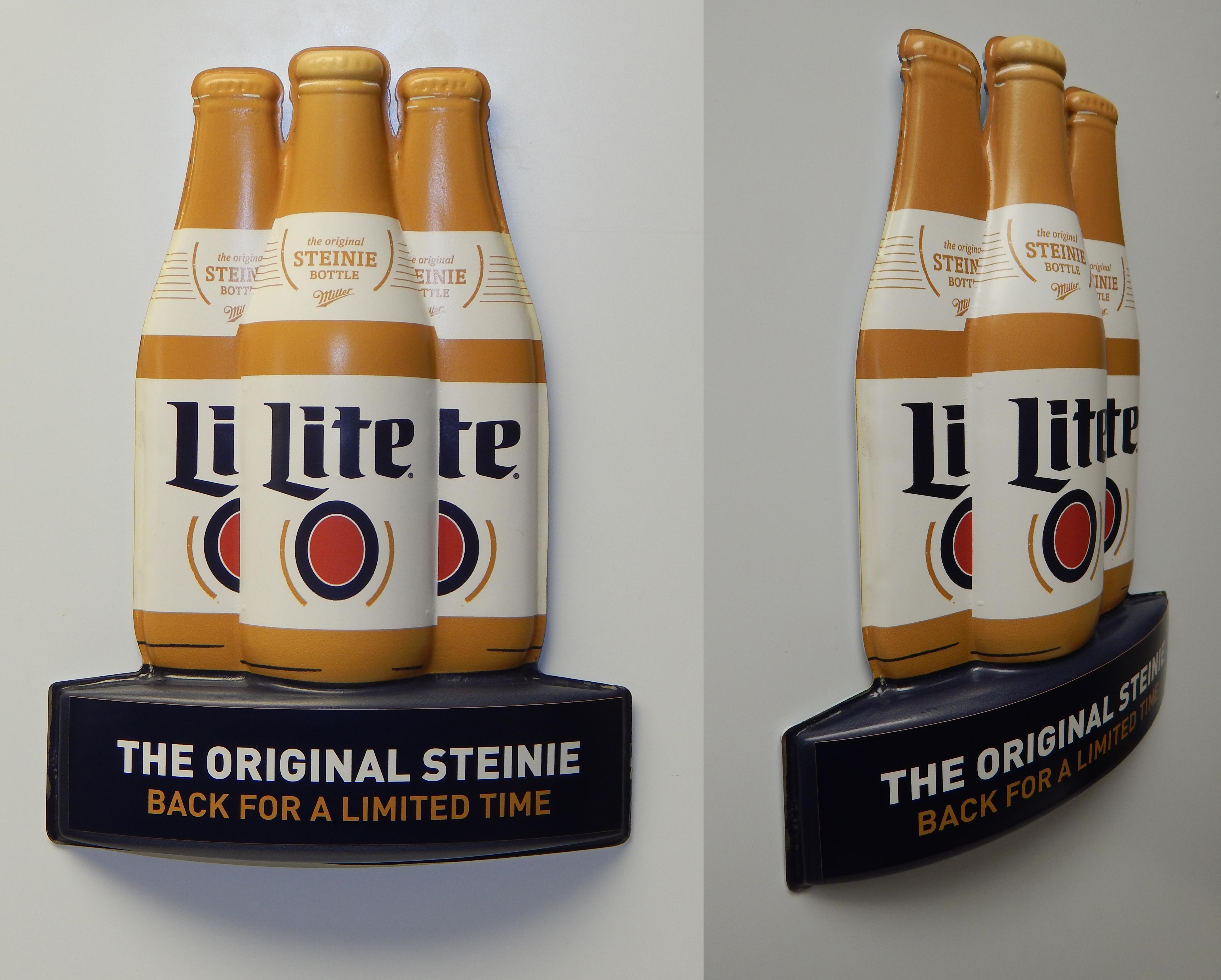 Miller Lite Steinie Door Glorifier