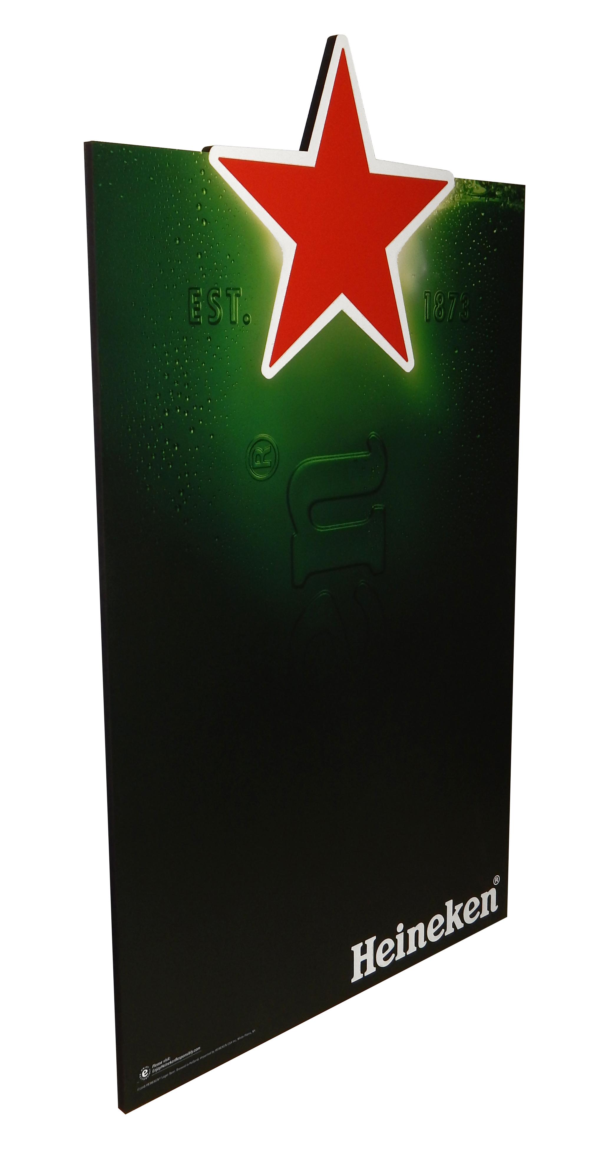 Heineken MDF Chalkboard
