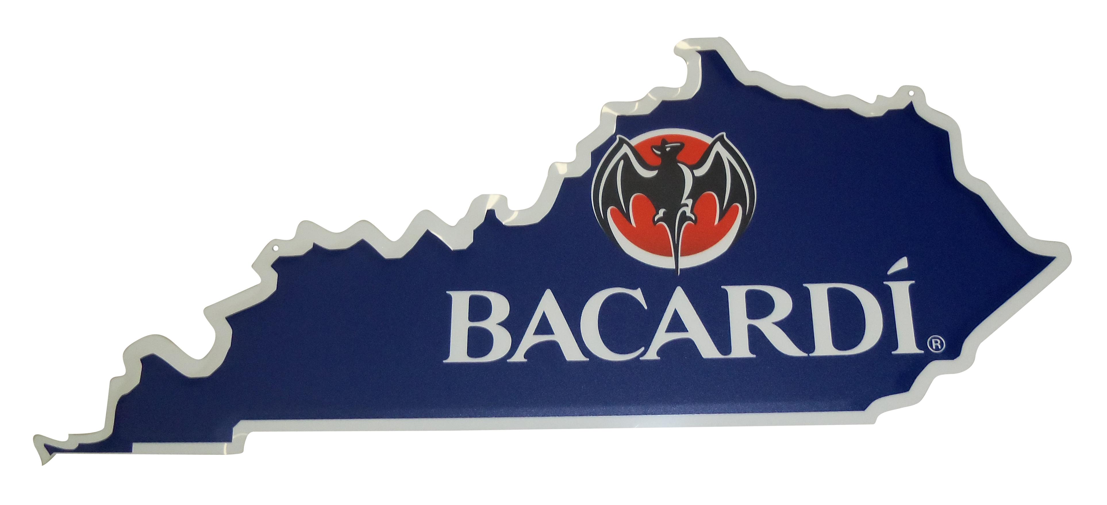 Bacardi Kentucky Tacker Sign