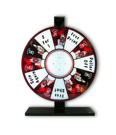 Malibu Spinning Wheel Display/Game