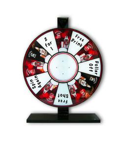 Malibu Spinning Wheel Display/Game