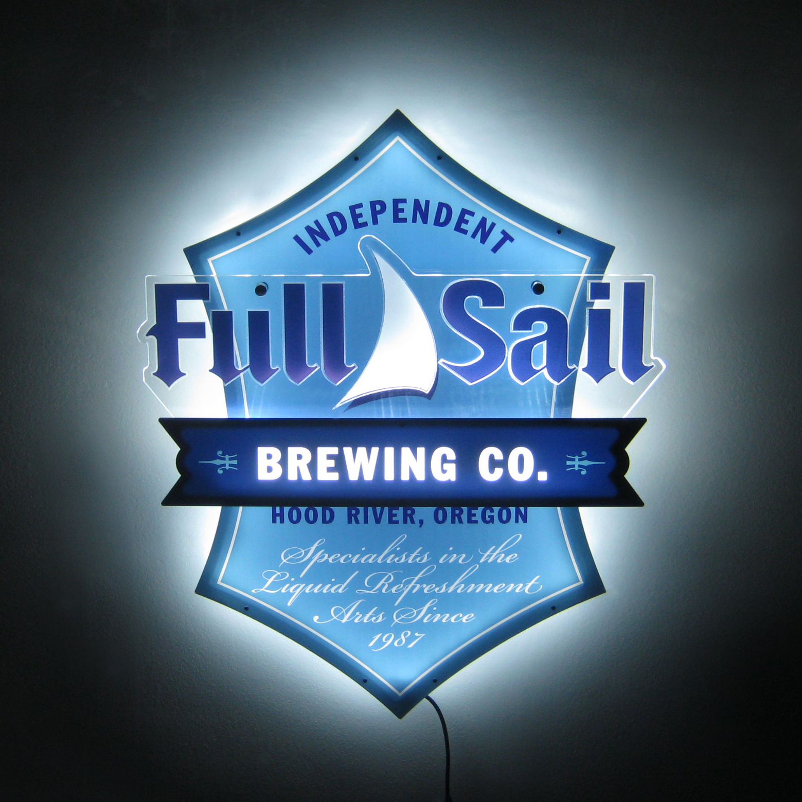 Full Sail LED Lighted Sign