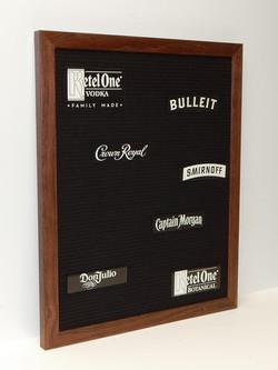 Multi-Brand Felt Letter Board
