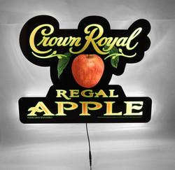 Crown Royal Apple LED Sign