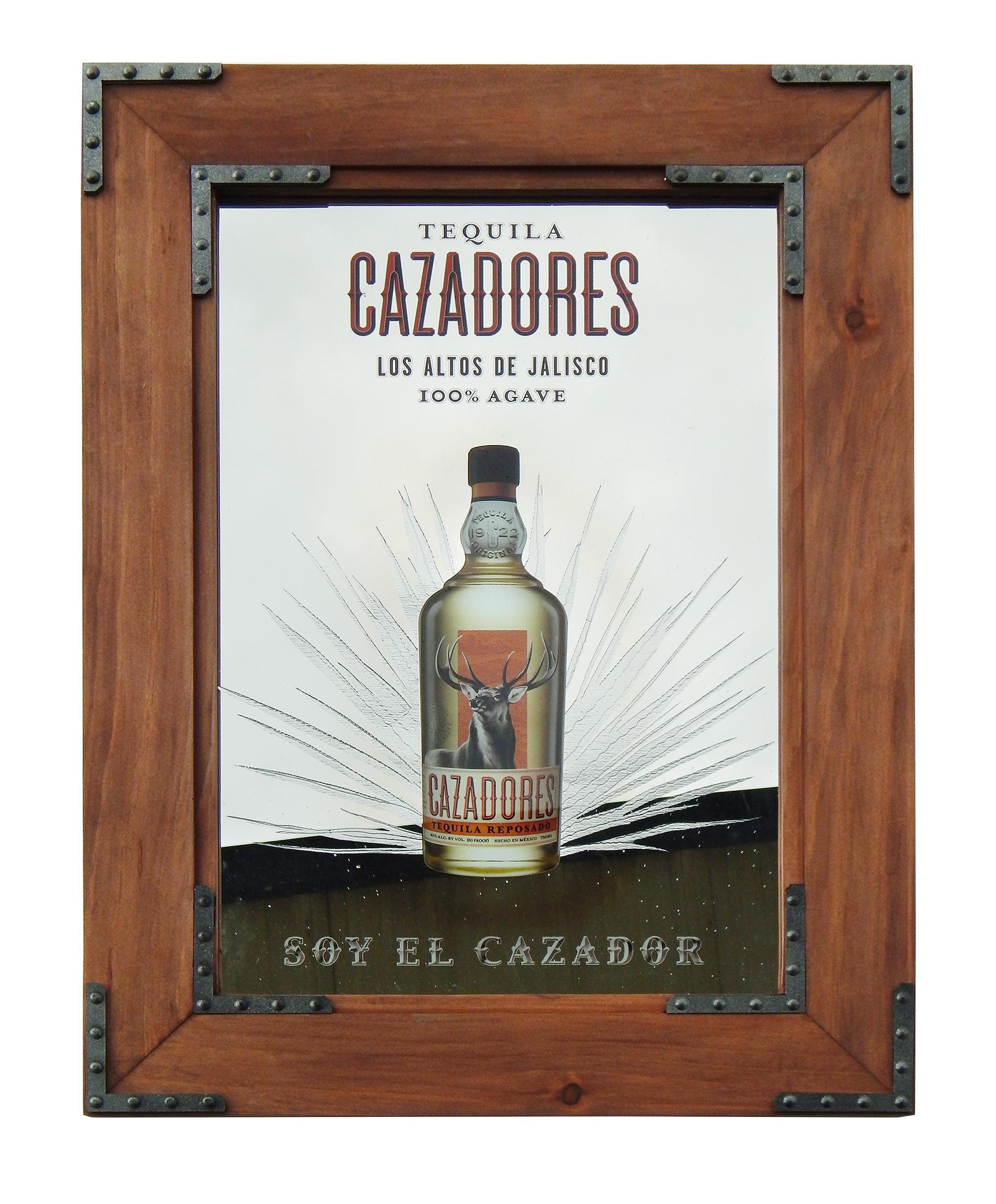BGP-166 Cazadores Tequila Mirror