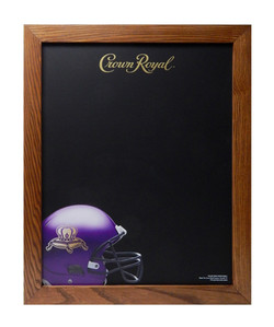 Crown Royal Football Chalkboard 2651