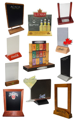 Visual Gallery - Table Tents (Card Holde