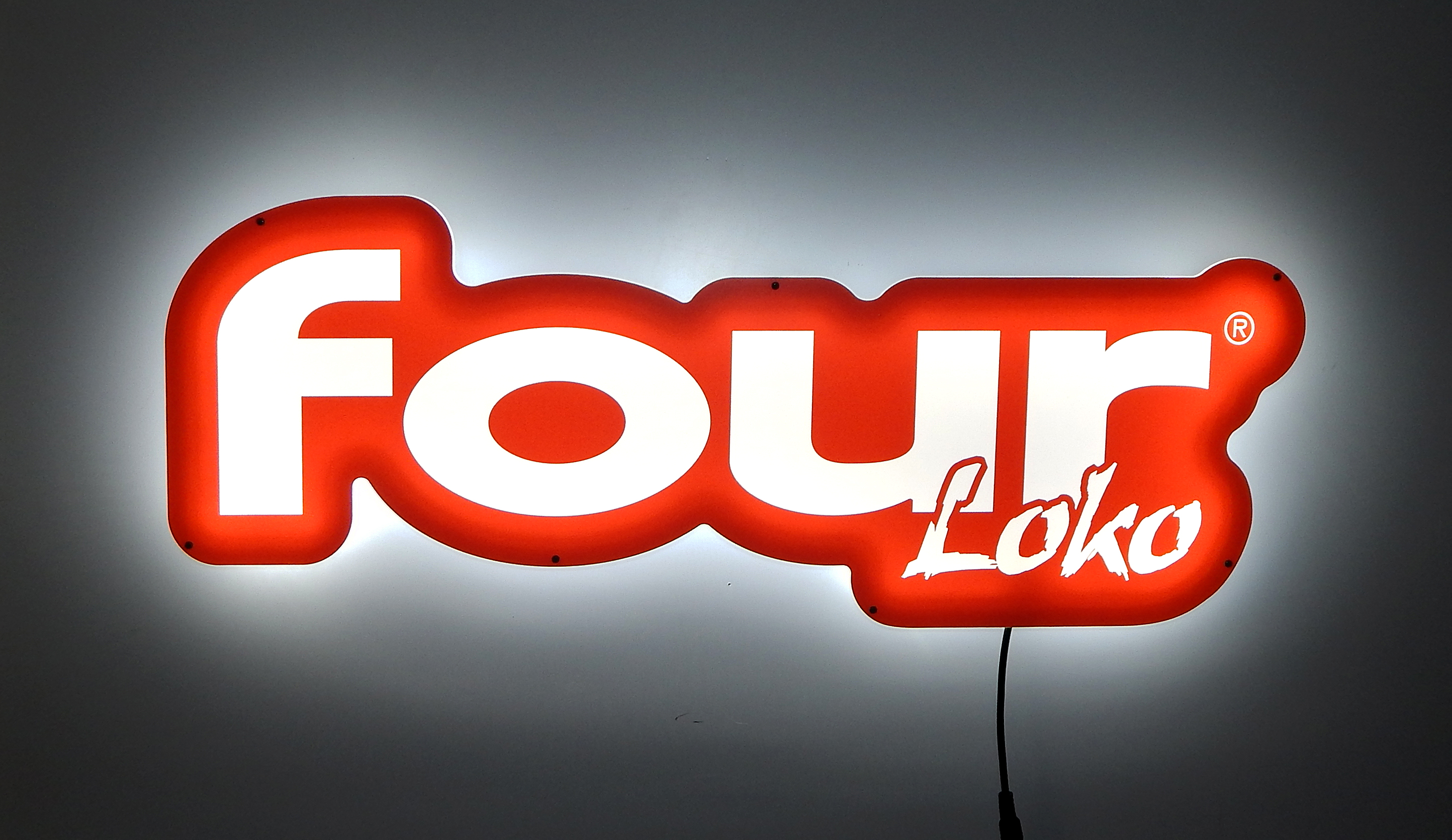 SFG-21 Four Loko Glow-LilteLED Sign 3711