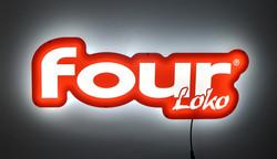 SFG-21 Four Loko Glow-LilteLED Sign 3711