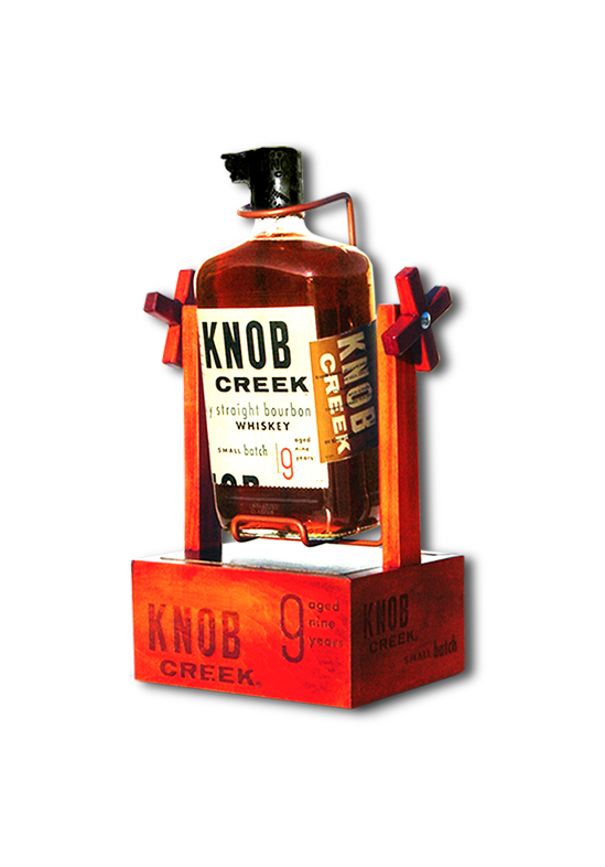 Knob Creek Bottle Glorifier