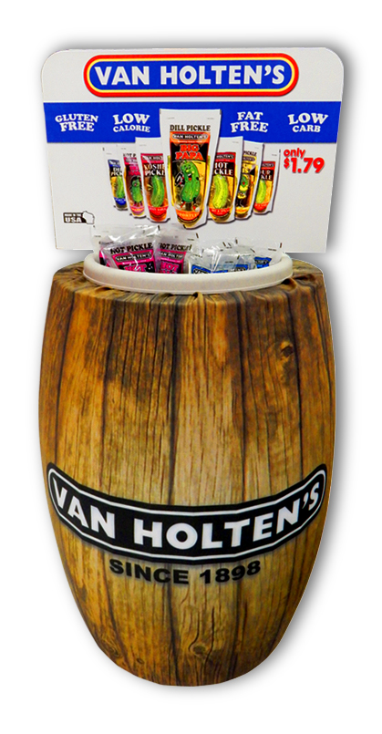 Van Holten's Barrel Display