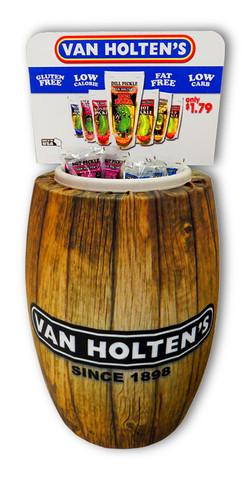 Van Holten's Barrel Display