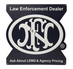 FNH Law Enforcement Tacker Sign