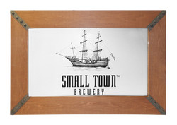 Small Town Brewery Mirror 2827
