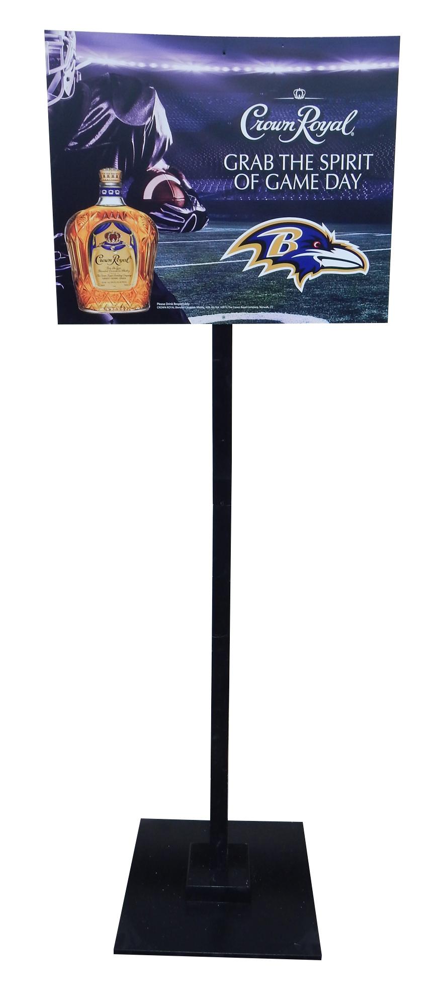 Crown Royal Ravens Pole Topper