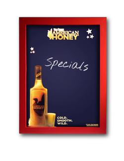 American Honey Write-On Board
