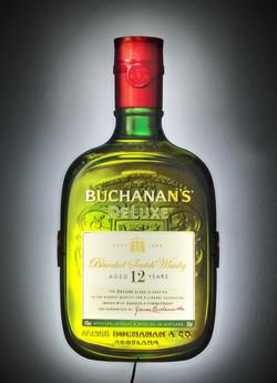 Buchanan's Glow-LiteLED Bottle