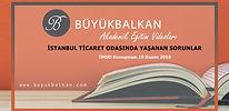 İstanbul Ticaret Odasında Yaşanan Sorunl