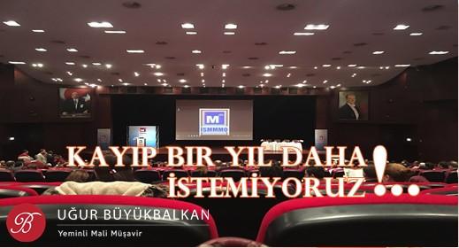 KAYIP BIR YIL DAHA İSTEMİYORUZ!..