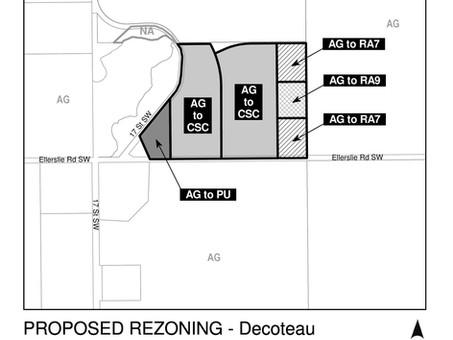 Southwest Edmonton Re-Zoning Approved