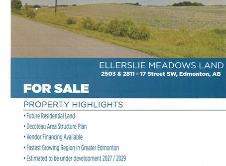 Ellerslie Meadows Land