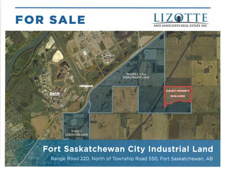 Fort Saskatchewan City Industrial Land