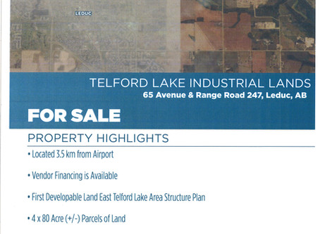 Telford Lake Industrial Lands