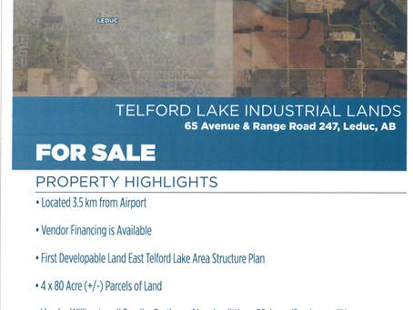 Telford Lake Industrial Lands