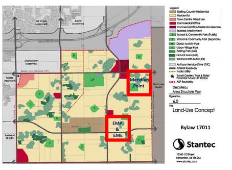Southwest Edmonton Zoning & Estimated Time frame