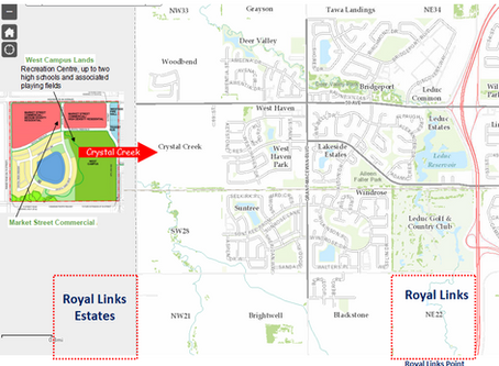 Proposed Area Construction Near Royal Links and Royal Links Estates