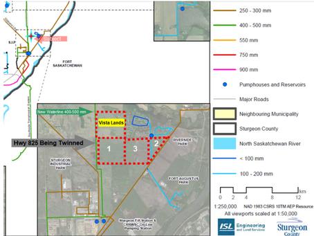 Fort Saskatchewan Vista Estates Lands Utility Service Works
