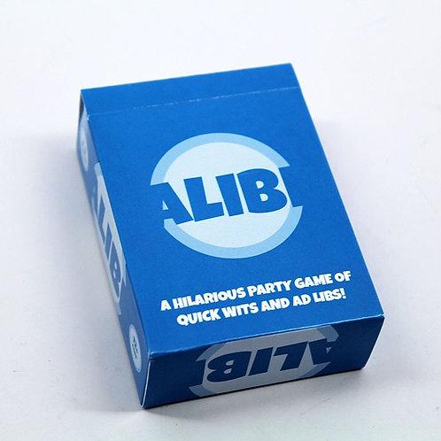 Alibi Card Game