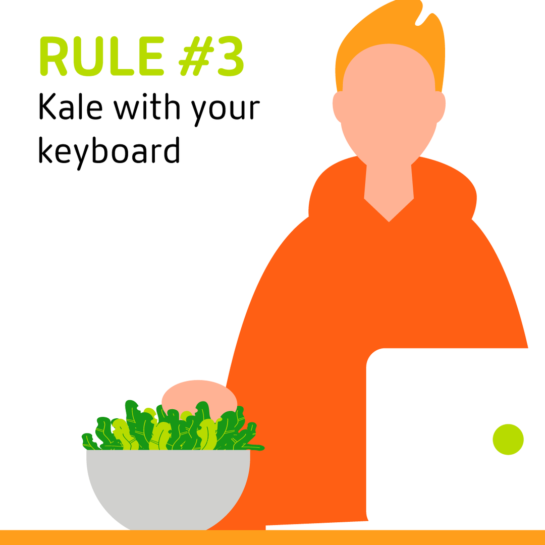 3 Kale With Your Keyboard