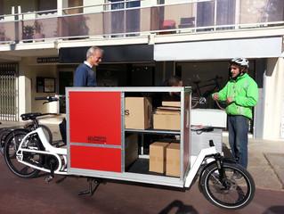 Pakete mit dem Cargobike
