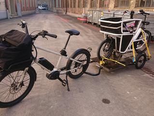 Service-Abholung per Bike
